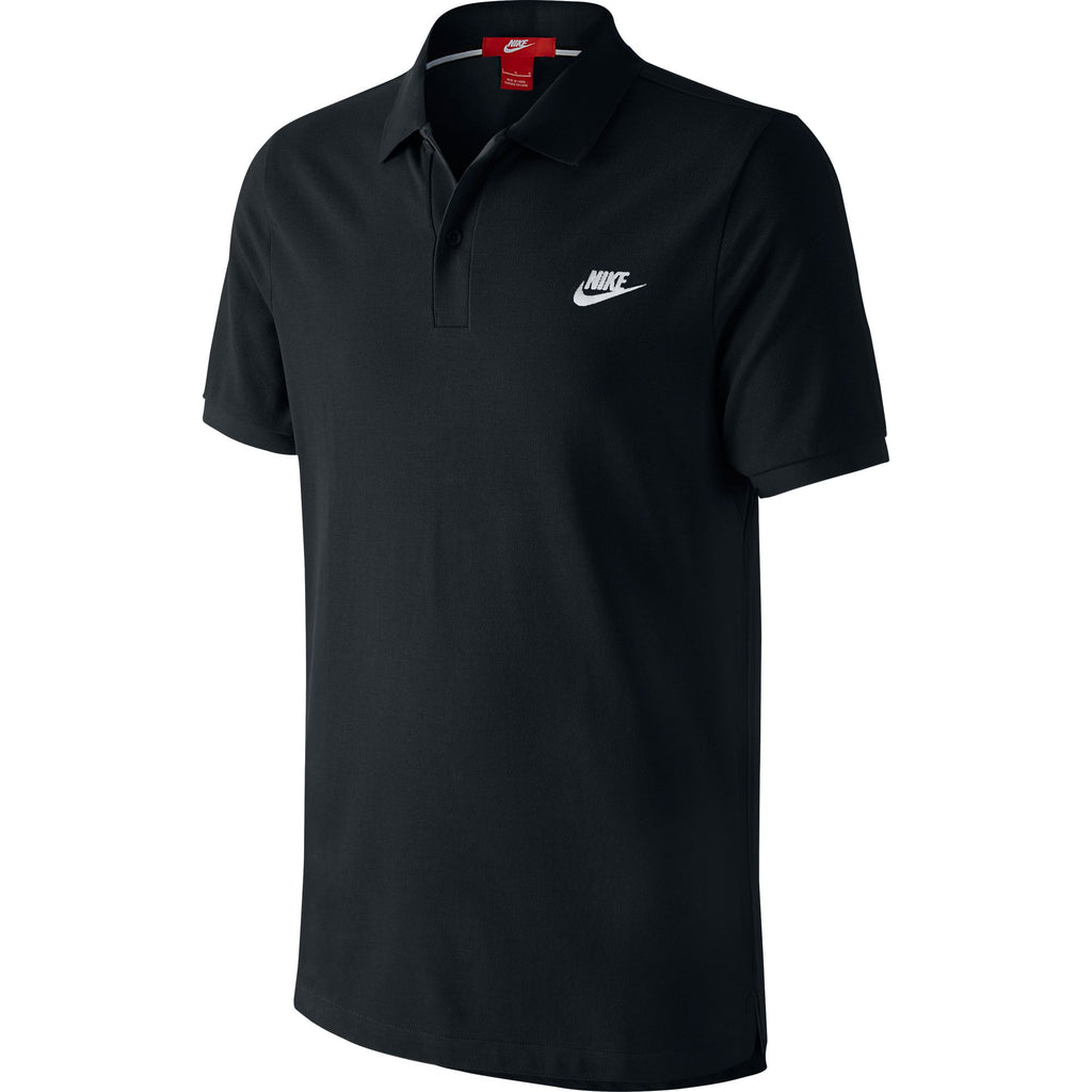 Nike GS Slim Fit Polo Men's T-Shirt Athletic Black/White