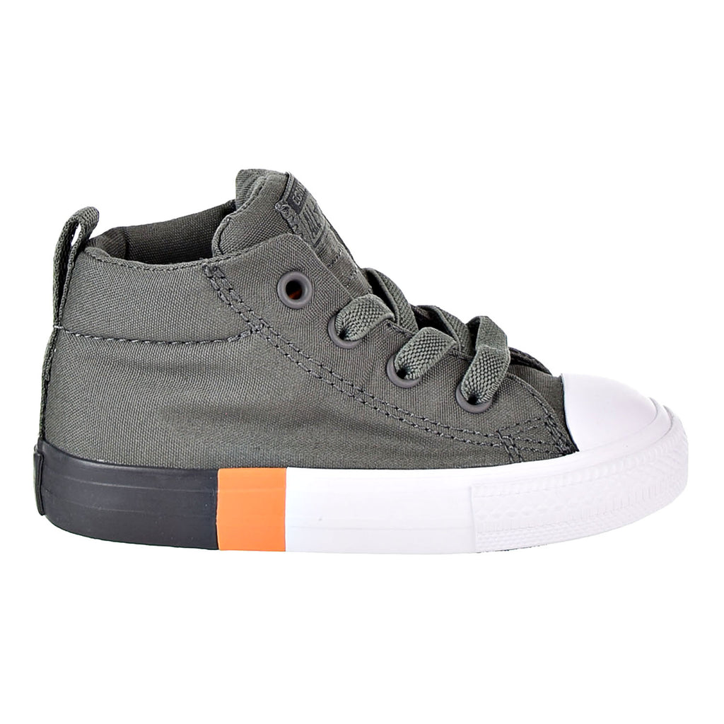 Converse Chuck Taylor All Star Street Mid Toddlers Shoes River Rock/Almost Black