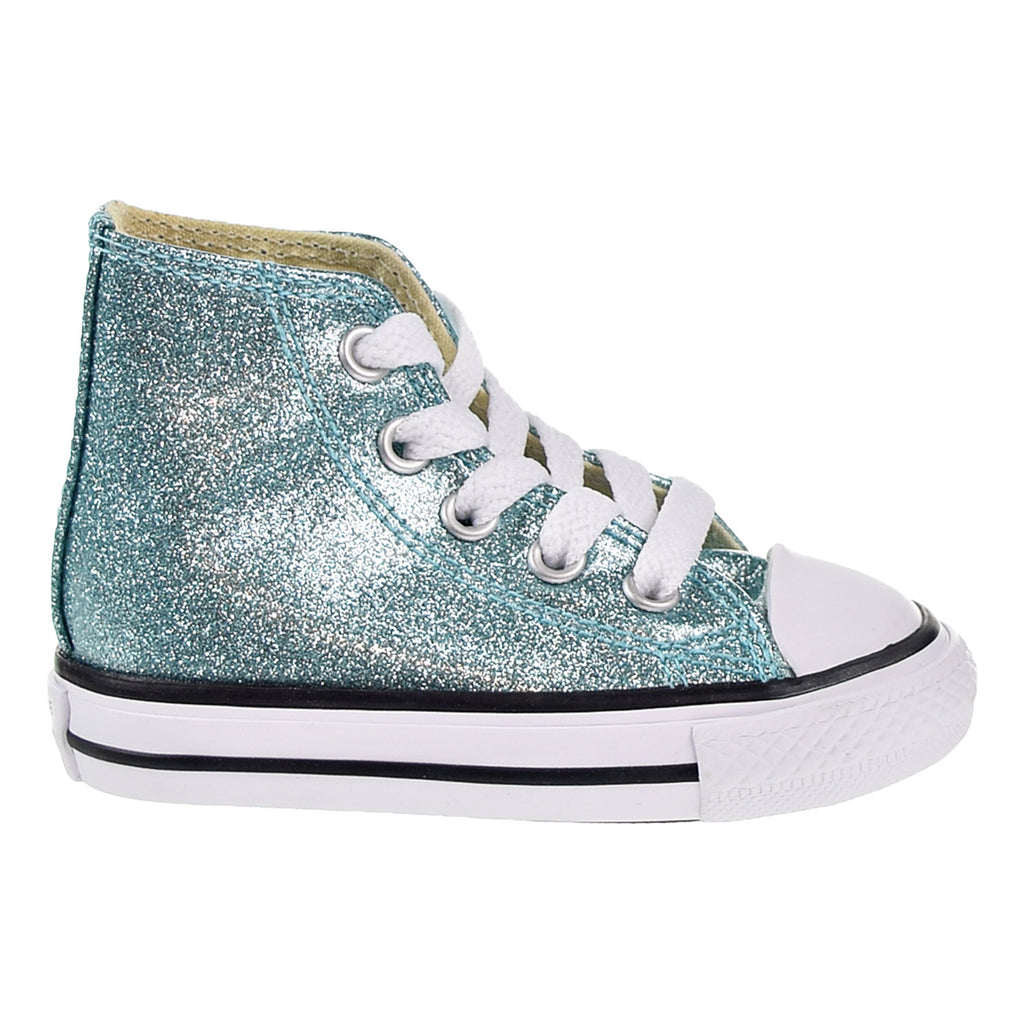 Converse CTAS HI Toddlers' Shoes Bleached Aqua/Natural/White