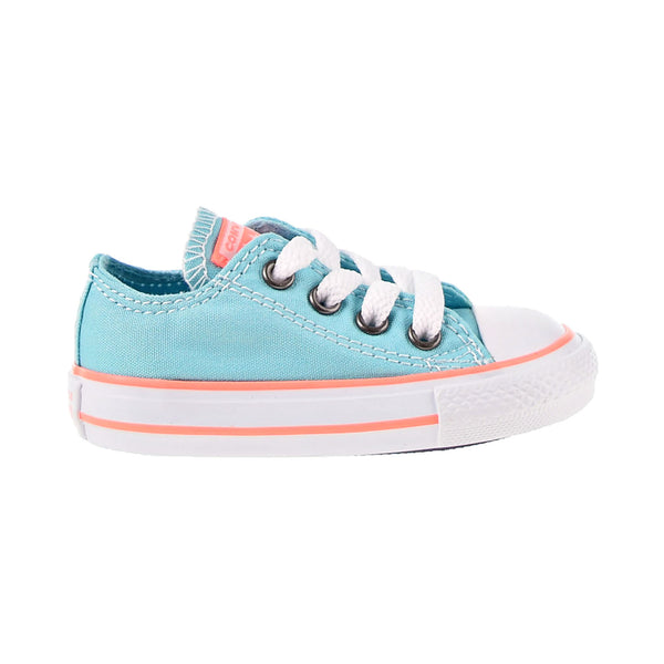 Converse All Star Ox Seasonal Athletic Toddler Shoes Bleached Aqua-Crimson Pulse