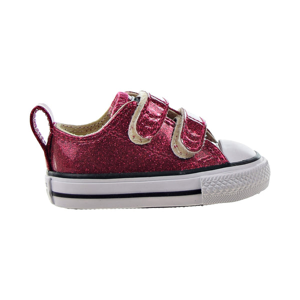 Converse Chuck Taylor All Star 2V Ox Toddlers' Shoes Pink Pop-Natural-White
