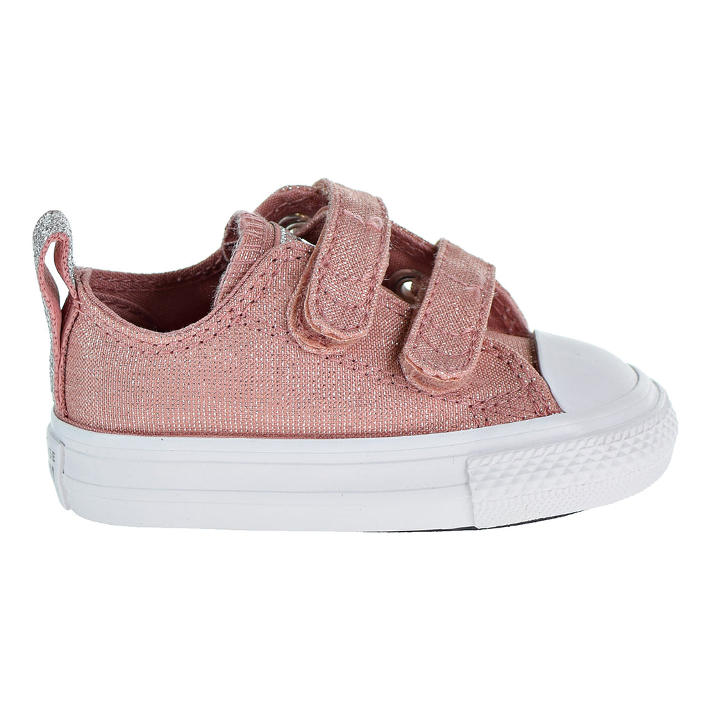 Converse Chuck Taylor All Star 2V OX Toddlers Shoes Rust Pink/White