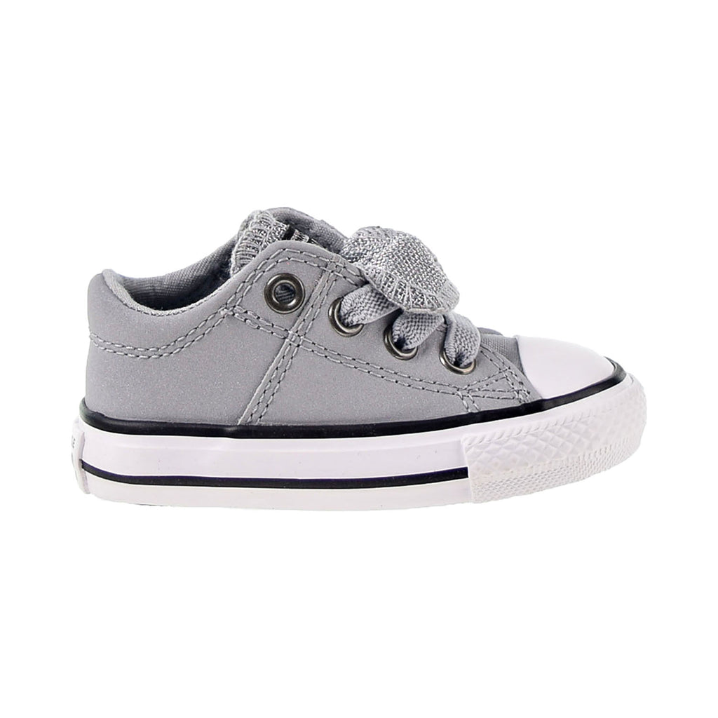 Converse Chuck Taylor All Star Maddie Glitter Leather Toddler Shoes Wolf Grey