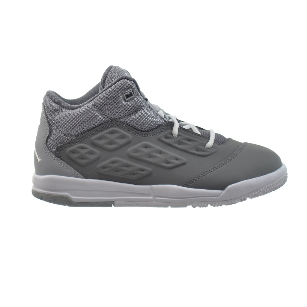 Jordan New School BP Little Kids Shoes Cool Grey/White/Wolf Grey