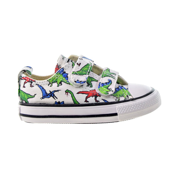 Converse Chuck Taylor All Star 2V Strap Ox Toddlers' Shoes White-Green-Red