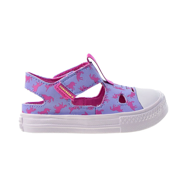 "Converse CT All Star Superplay ""Unicorns"" Toddlers' Sandals Twilight Pulse"