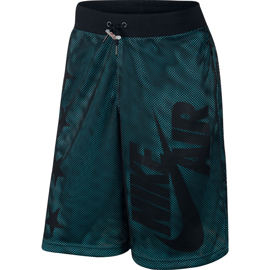 Nike Air Pivot V3 Mesh Men's Shorts Athletic Black/Turquoise