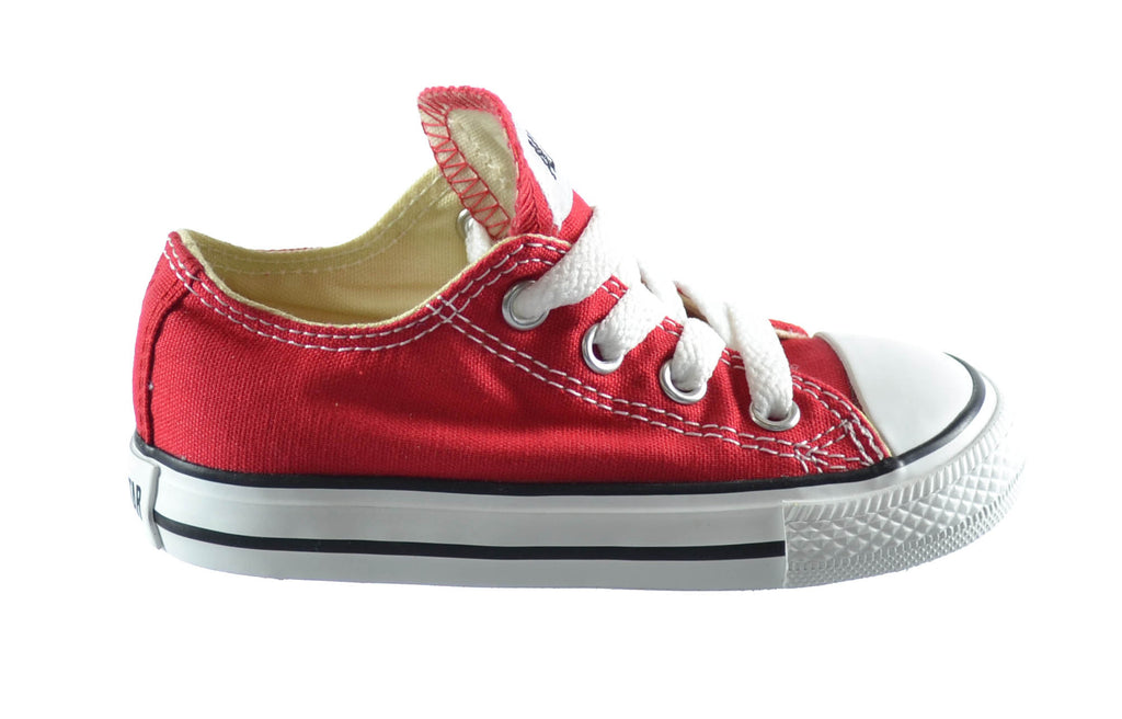 Converse Chuck Taylor All Star Low Top Infants/Toddlers Shoes Red