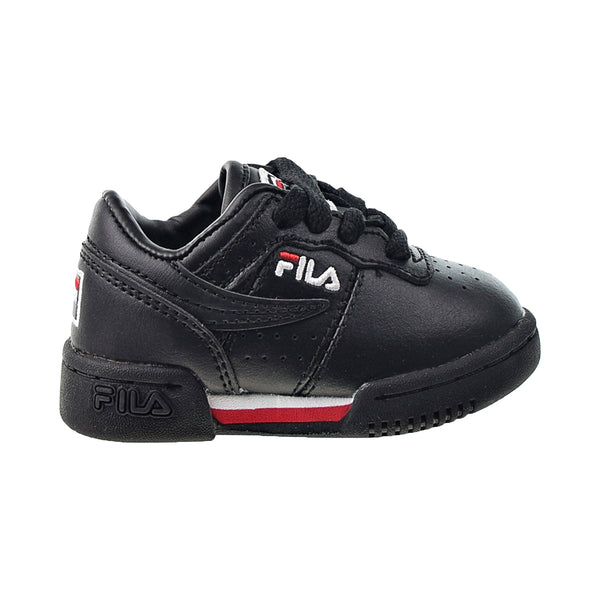 Fila Original Fitness Toddlers' Shoes Black-Red-White
