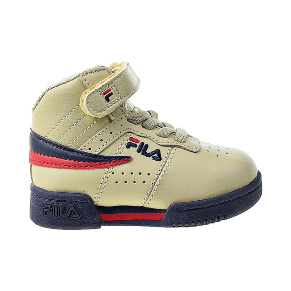 Fila F-13 Toddlers' Shoes Cream-Navy-Red