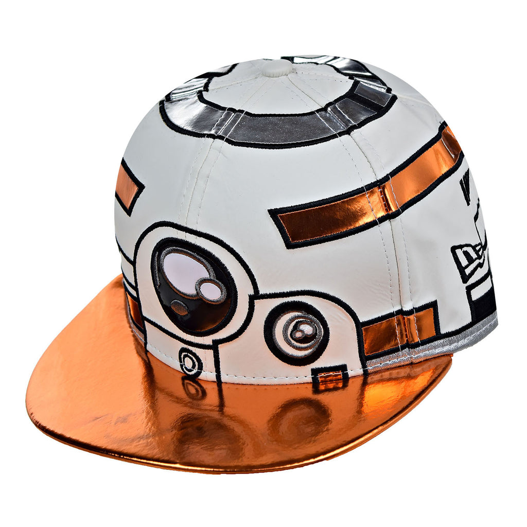 New Era Star Wars Character Face Herodr Men's Fitted Hat Cap White/Orange/Black