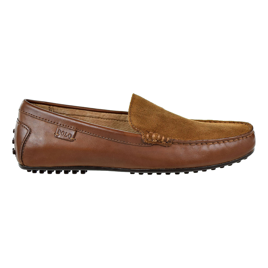 Polo Ralph Lauren Woodley-SO-Driver Mens Loafers Brown