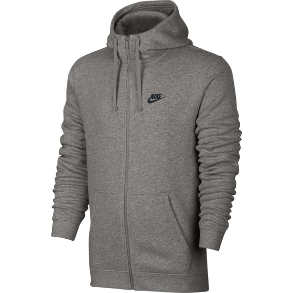 Nike NSW Full-Zip Men's Hoodie Grey-Black