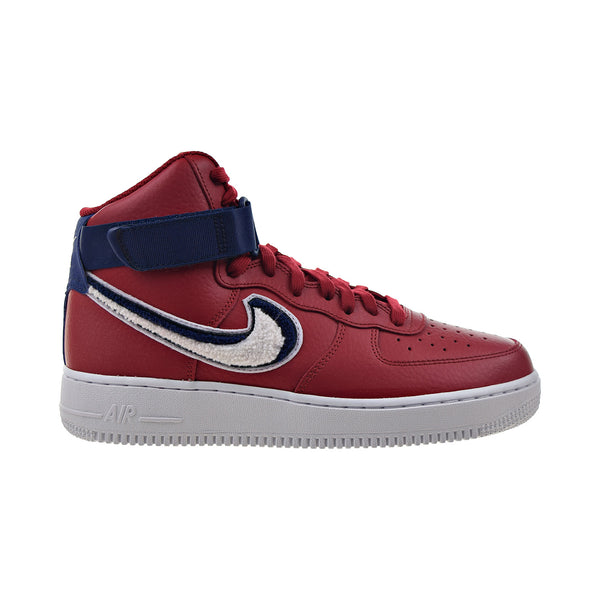 Nike Air Force 1 High 07 LV8 Men's Shoes Gym Red-White-Blue Void