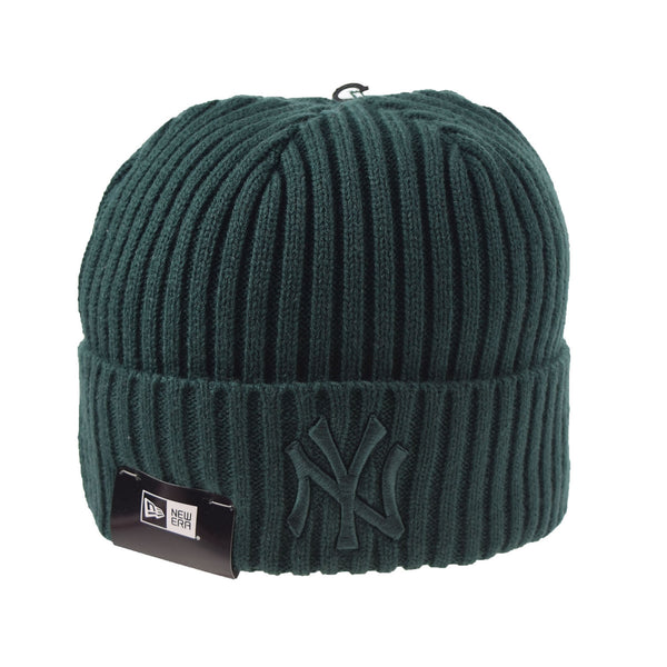 New Era New York Yankees Color Basic Knit Beanie Green