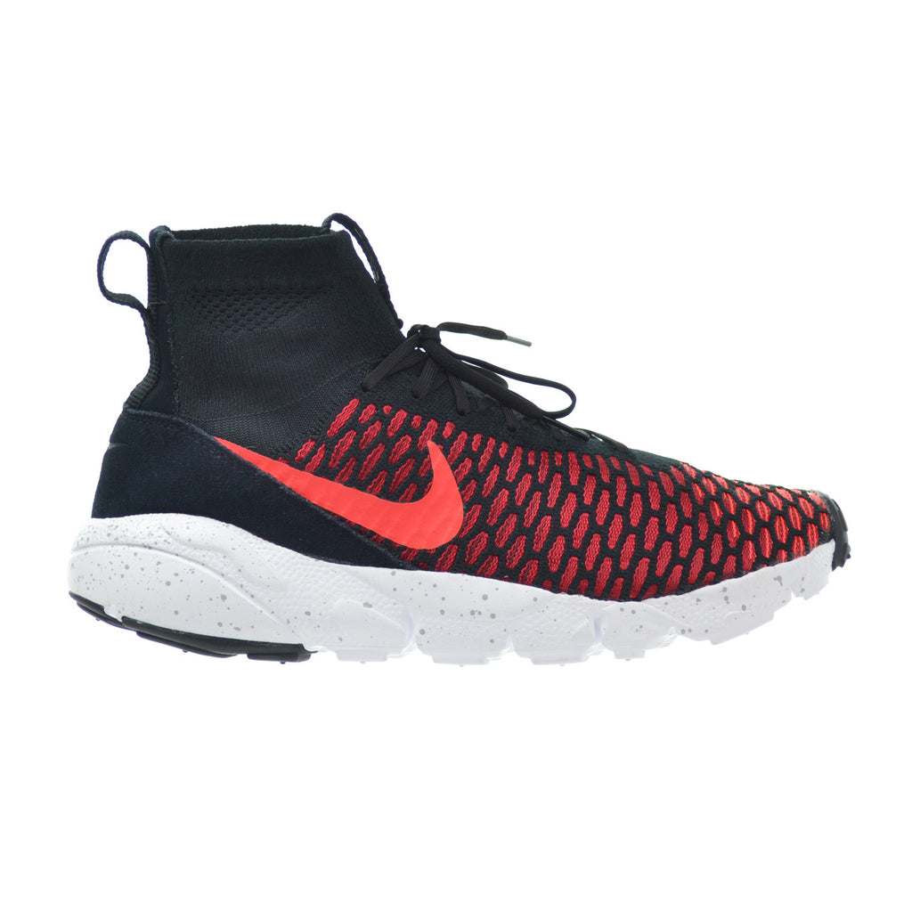 Nike Air Footscape Magista Flyknit Black/Bright Crimson/Gym Red/Cool Grey