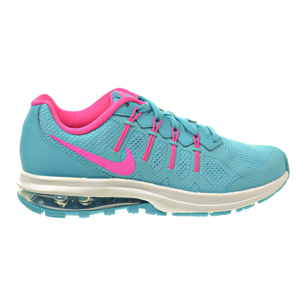 Nike Air Max Dynasty (GS) Big Kid's Shoes Gamma Blue/Pink Blast/White