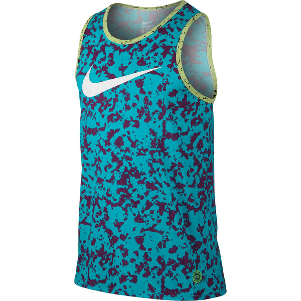 Nike Men's Tank Top Blue-Grey-White