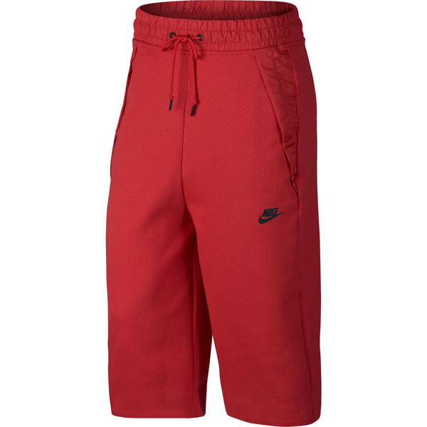 Nike Sportswear Tech Fleece Women's Capri's Pants Red