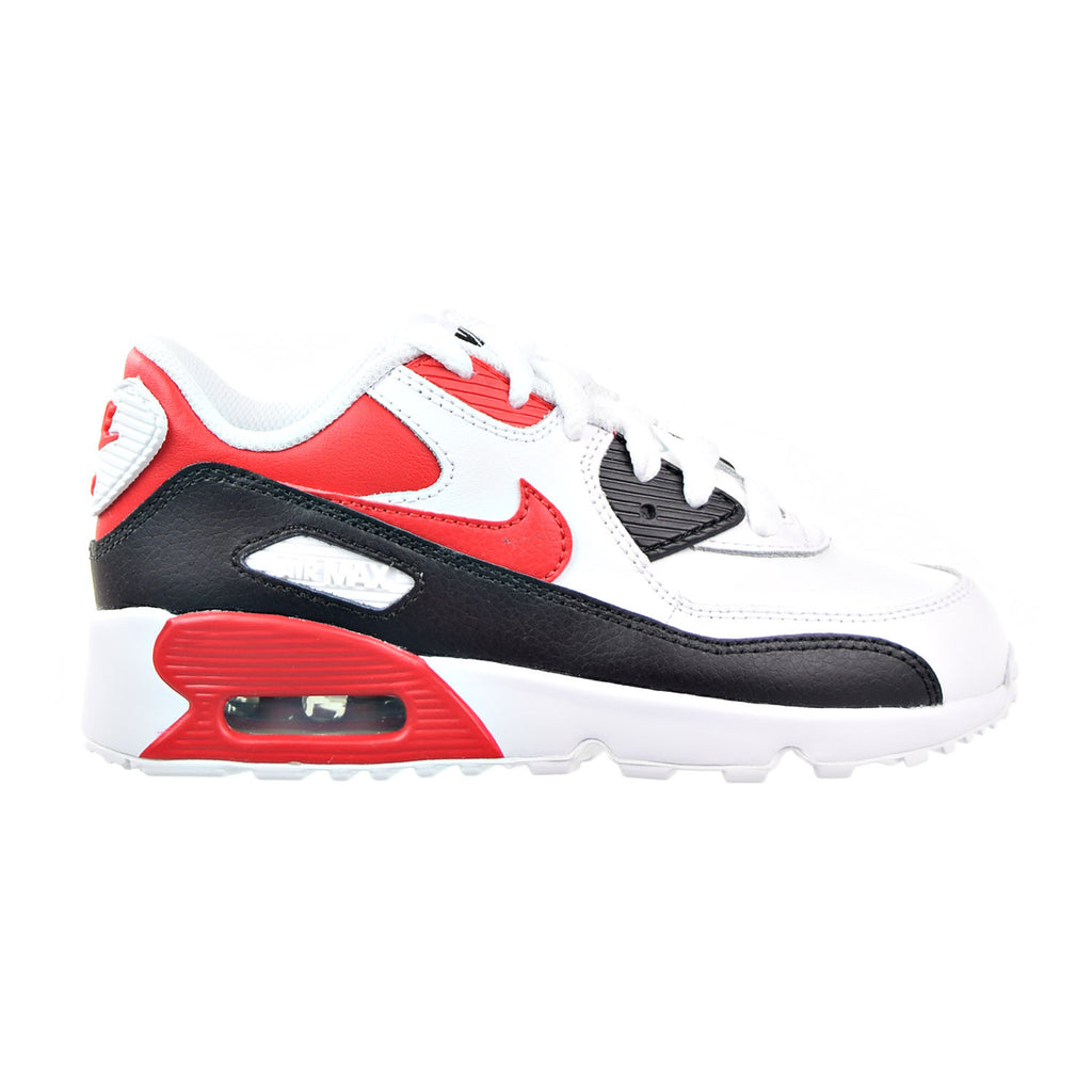 Nike Air Max 90 LTR (PS) Little Kid's Shoes White/University Red/Black