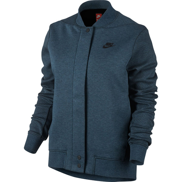 Nike Tech Fleece Destroyer Women's Jacket Squadron Blue