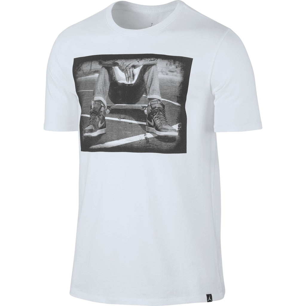Adidas Originals Trefoil Palm Men's T-Shirt Black/White