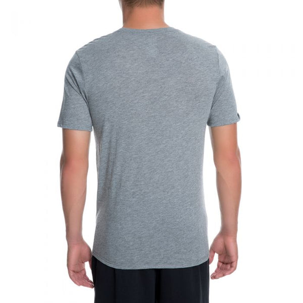 6bd591b763309e Jordan The Iconic 23 Men s Sportswear T-Shirt Grey White – rbdoutlet