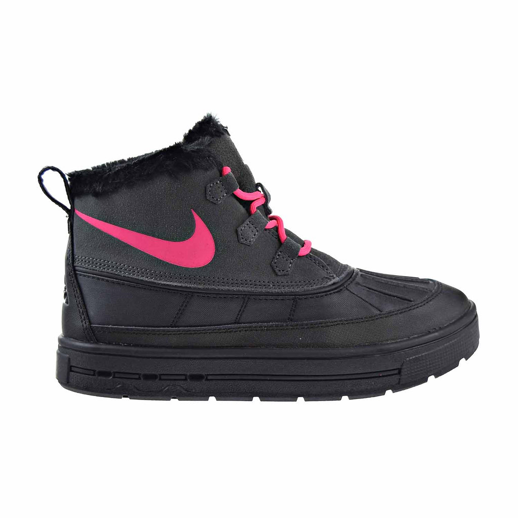 Nike Woodside Chukka 2 GS Girls Big Kids Shoes Anthracite/Black/Pink