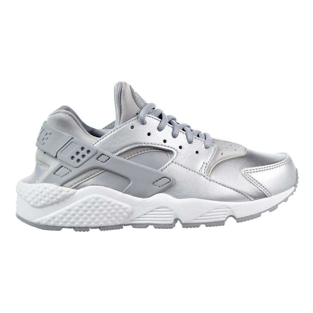 Nike Air Huarache Run SE Women's Shoe Metallic Silver/Pure Platinum/Summit White