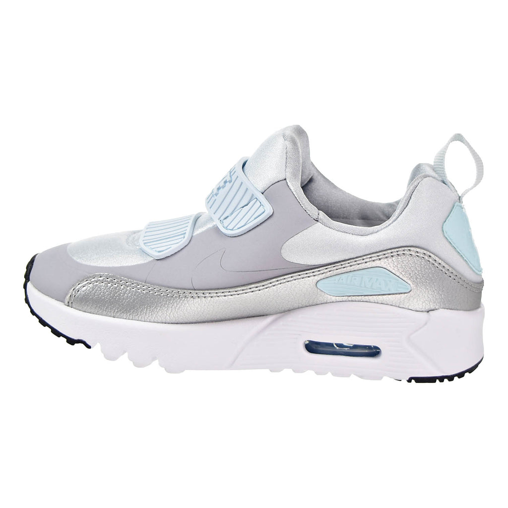 Nike Air Max Tiny 90 (PS) Running Shoes Pure Platinum/Wolf Grey