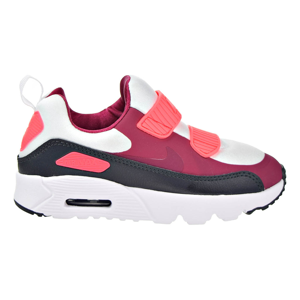 Nike Air Max Tiny 90 (PS) Preschool Shoes White/Noble Red/Anthracite