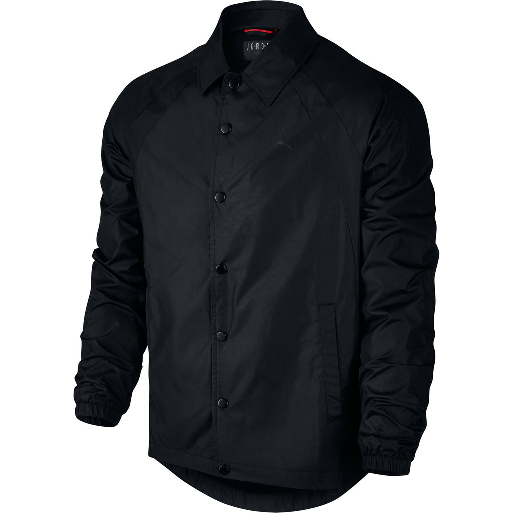Air Jordan Wings Coaches Men's Sportswear Jacket Black