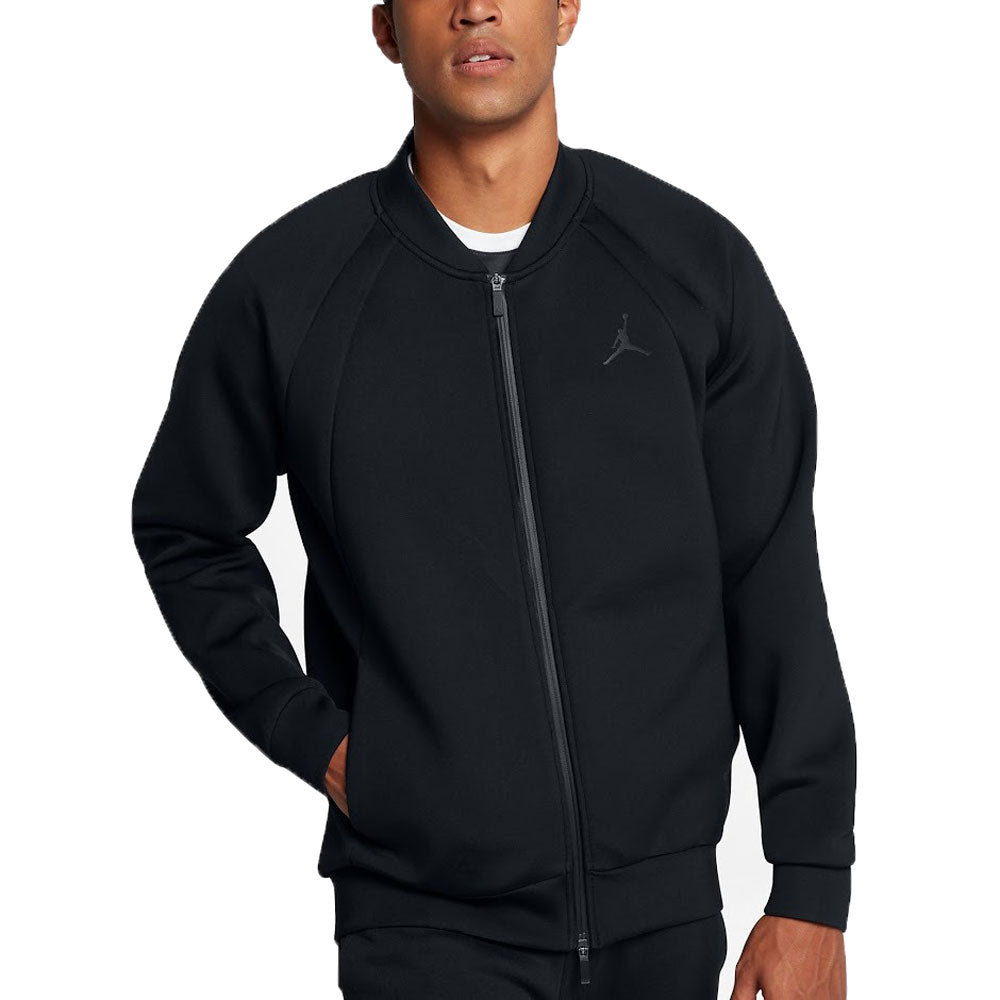 Air Jordan Flight Tech Men's Sportswear Casual Jacket Black