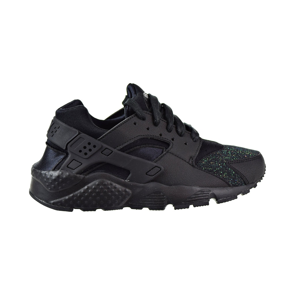 Nike Huarache Run SE Big Kids' Shoes Black