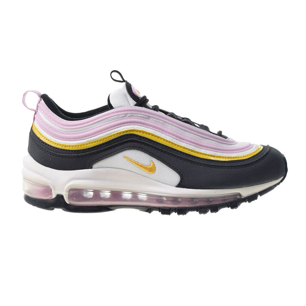 Nike Air Max 97 Big Kids' Shoes Black-Dark Sulfur