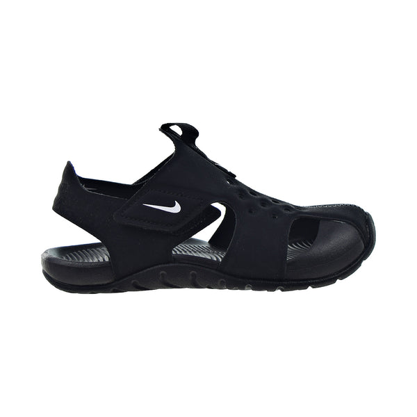 Nike Sunray Protect 2 Little Kids' Sandals Black-White