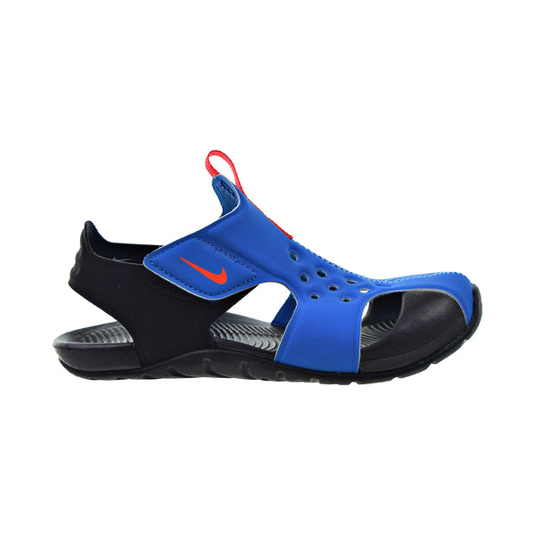 Nike Sunray Protect 2 Little Kids' Sandals Photo Blue-Black-Bright Crimson