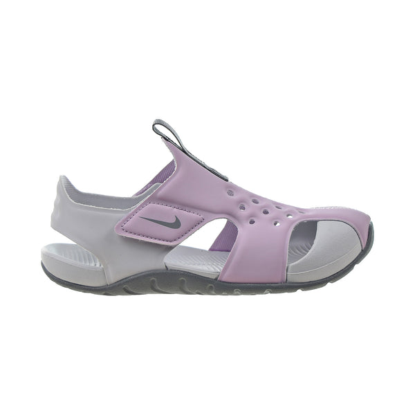 Nike Sunray Protect (PS) Little Kids' Sandals Iced Lilac-Particle Grey