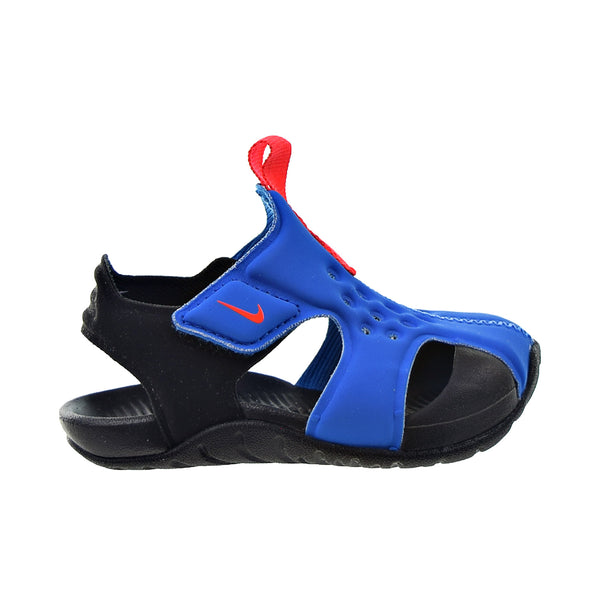 Nike Sunray Protect 2 (TD) Toddlers' Sandals Photo Blue-Bright Crimson