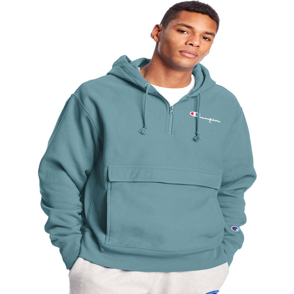 Champion Reverse Weave Manorak Men's Hoodie Carefree Tea