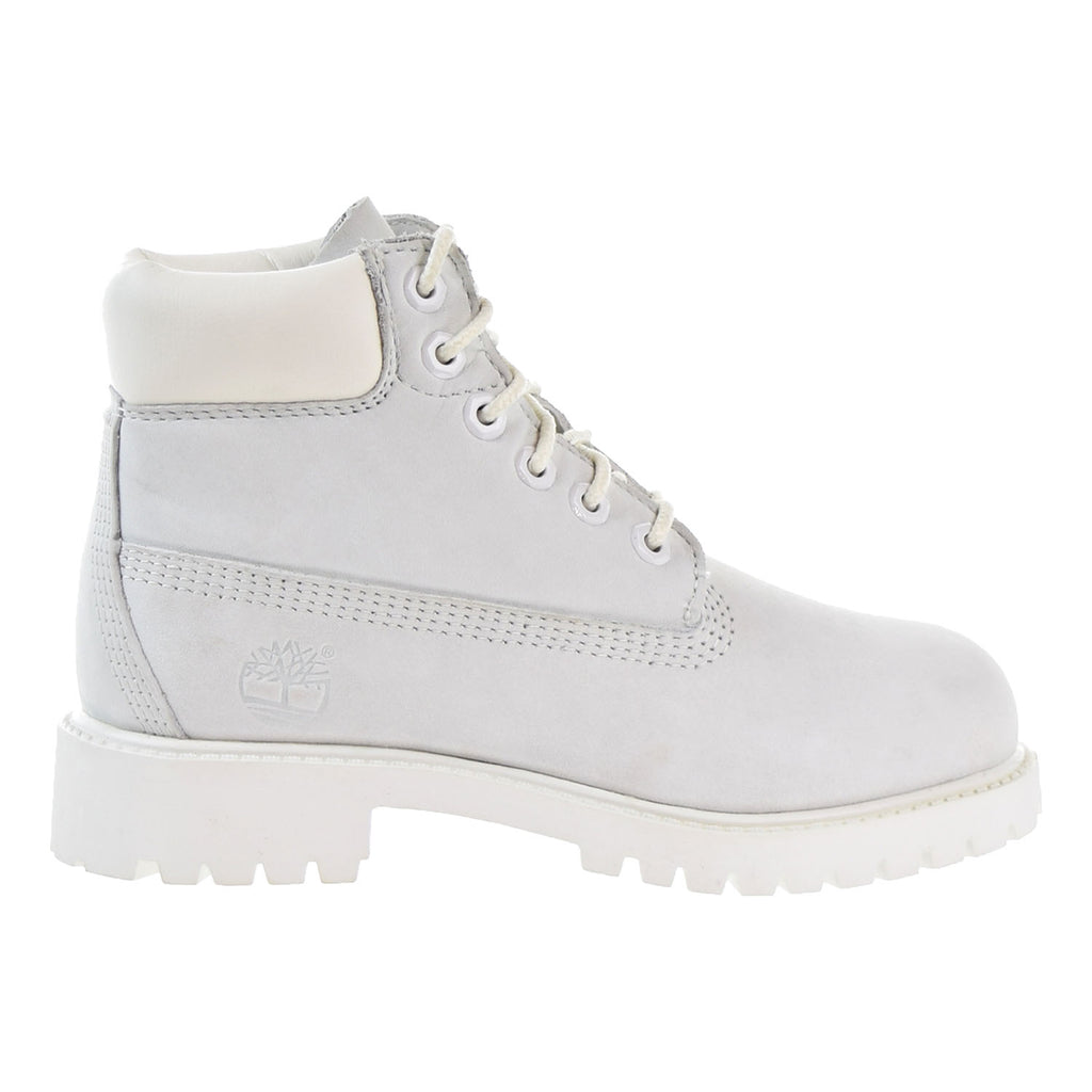 Timberland 6 Inch Waterproof Little Kids Boots White