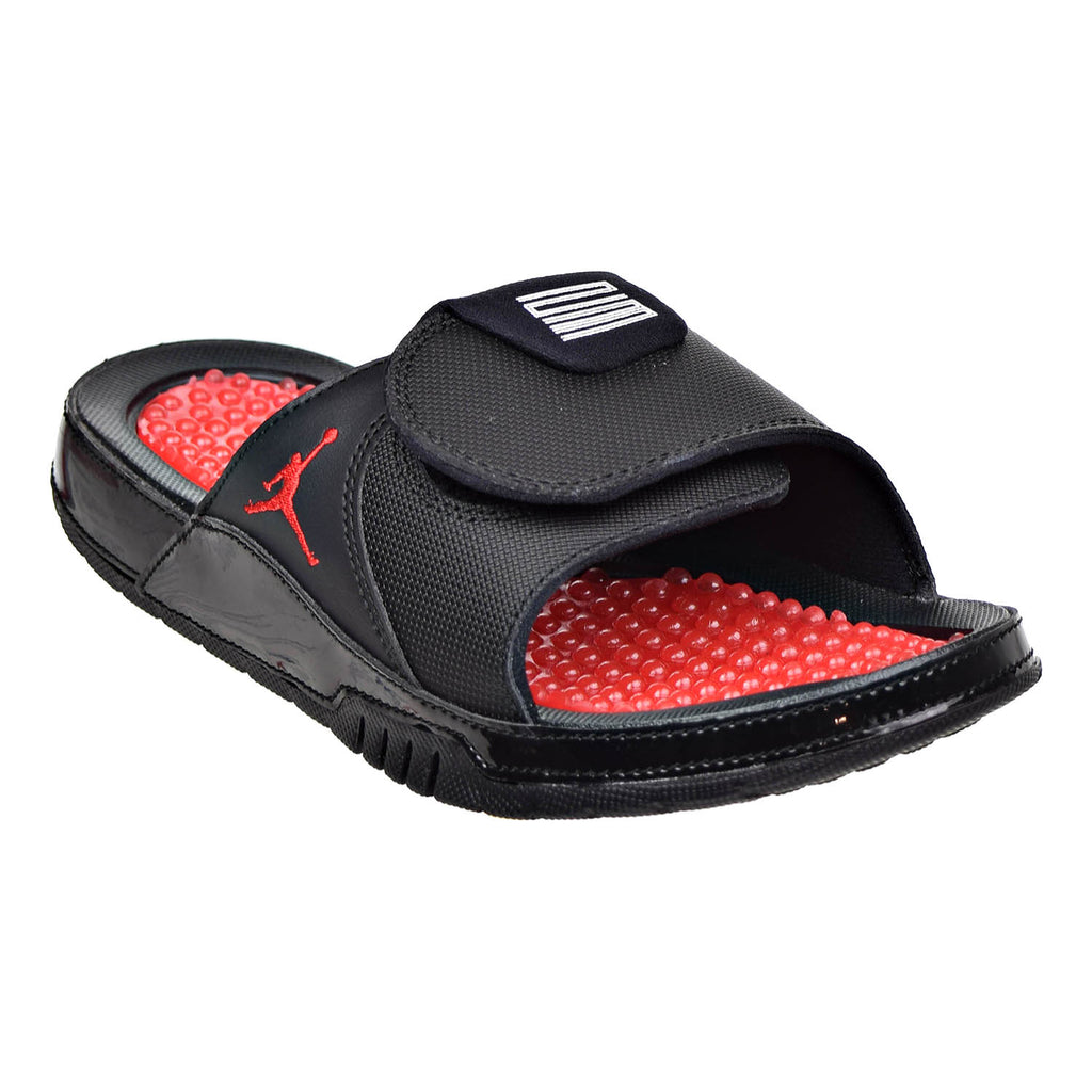 2a037967067 Jordan Hydro XI Retro Mens Sandals Black/University Red – rbdoutlet