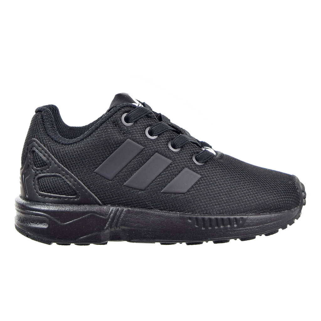 Adidas ZX Flux EL I Toddler Shoes Black/Black/Black