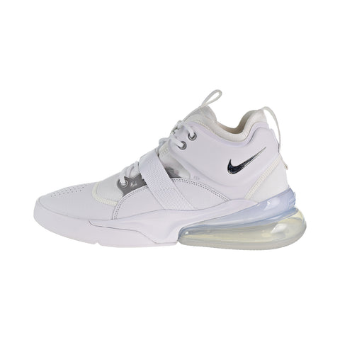 Nike Air Force 270 Mens Shoes White Metallic Silver – rbdoutlet 4014ec6e3