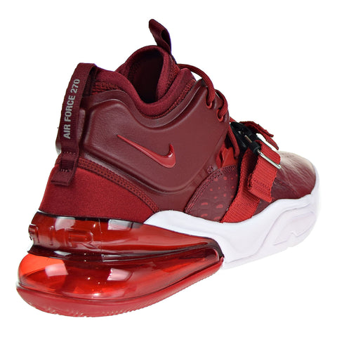online store d621e c8b9f Nike Air Force 270 Mens Shoes Team Red Gym Red White