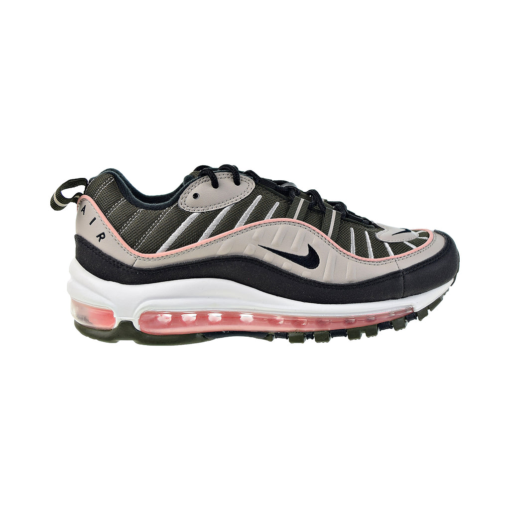 Nike Air Max 98 Women's Shoes Cargo Khaki-Black-Desert Sand