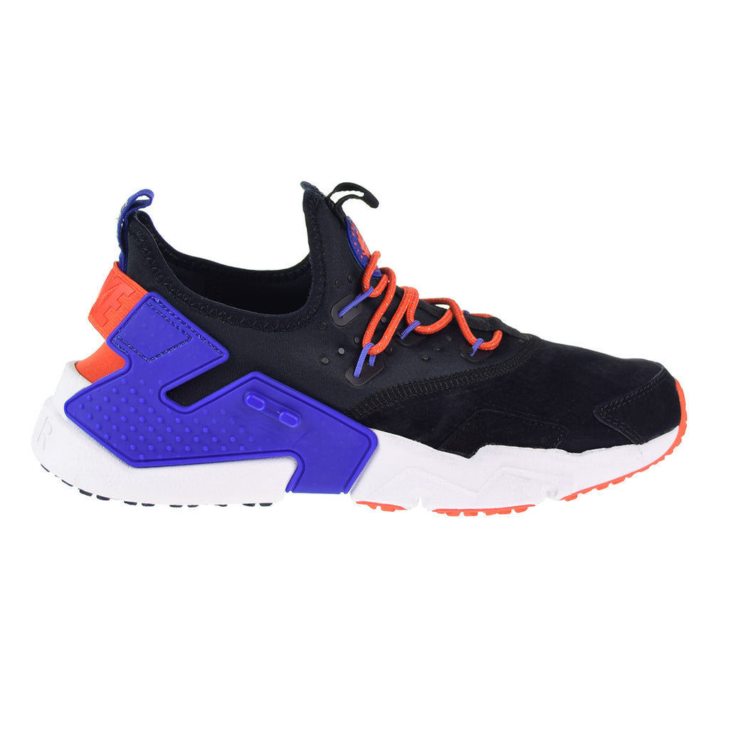 Nike Air Huarache Drift Men's Premium Shoes Black/Rush Violet/Rush Orange