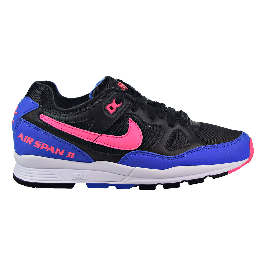Nike Air Span II Men's Shoes Black/Hyper Pink/Hyper Royal