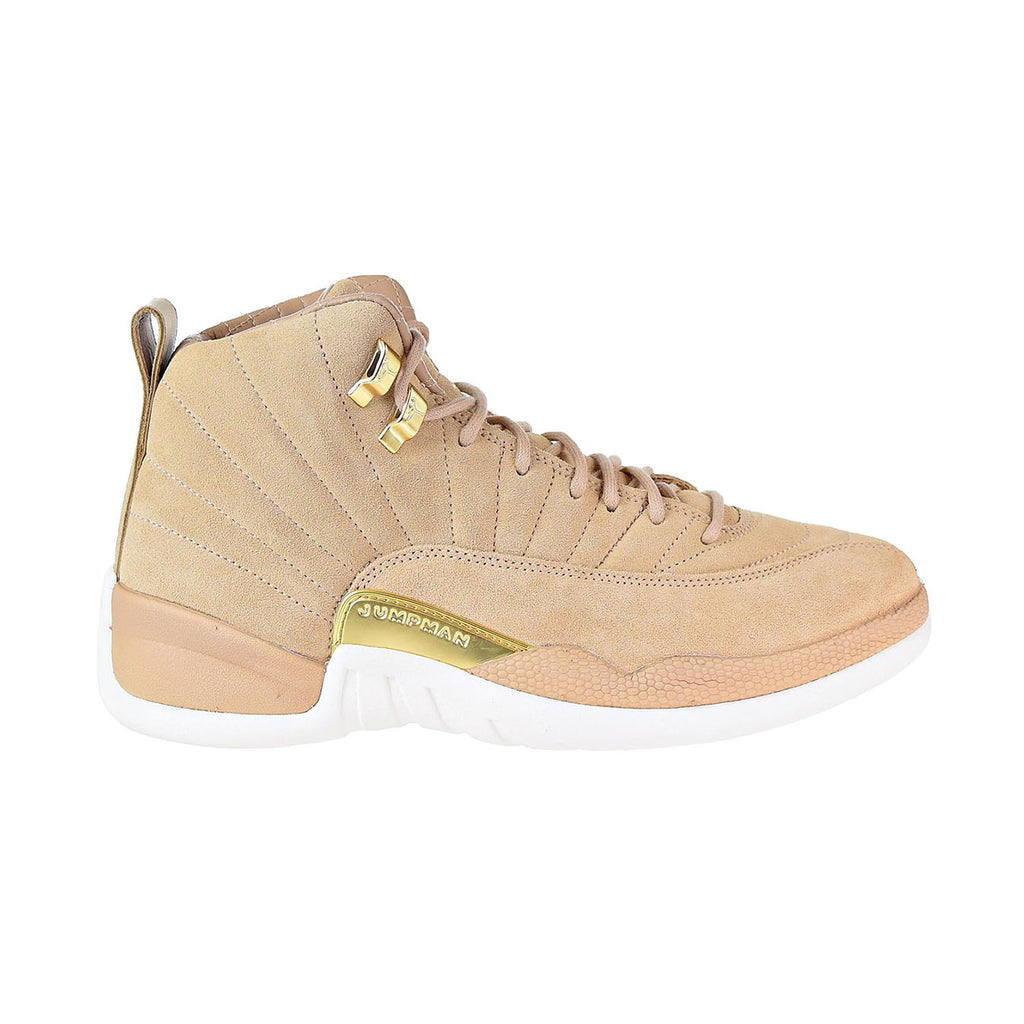 Nike Air Jordan 12 Retro Women's Shoes Vachetta Tan/Sail/Metallic Gold