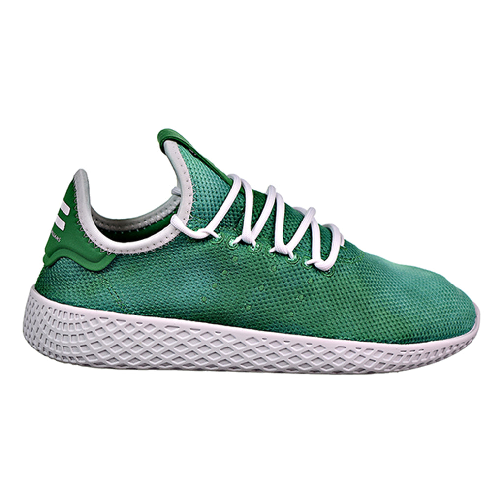 Adidas PW Tennis HU J Big Kids Shoes Green/White